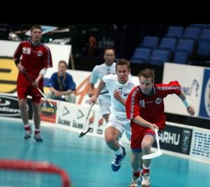 floorball Henrik Jensen