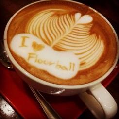i love floorball kaffe