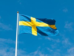 blog sverige flag